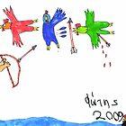 Hercules and the Stymphalian Birds by Fotis