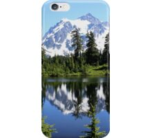 Mt. Shuksan and Reflection iPhone Case/Skin