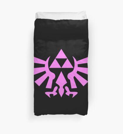 Triforce (Pink) Duvet Cover
