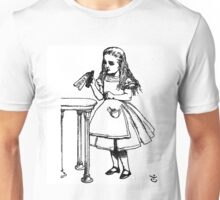 Alice don't drink that poison Unisex T-Shirt