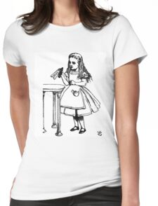 Alice don't drink that poison Womens Fitted T-Shirt