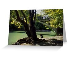 By the waters edge--Northern Greece Greeting Card