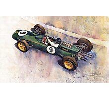 Lotus 25 F1 Jim Clark Monaco GP 1963 Photographic Print