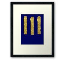 Vault-Teck 111 Shirt large symbol Framed Print