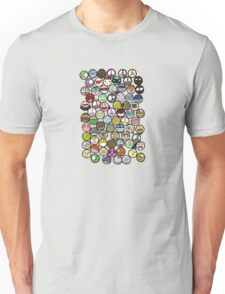Seventy-Three Faces Unisex T-Shirt