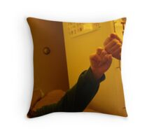 Fists Throw Pillow
