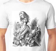 Why are you do down, Alice? Unisex T-Shirt