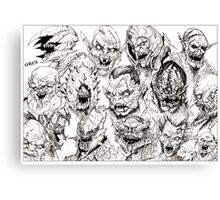 ORCS Canvas Print