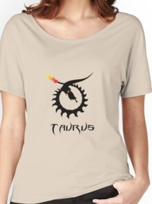 Skeleton Taurus Zodiac Women's Relaxed Fit T-Shirt