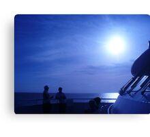 voyage Thru Blue Canvas Print