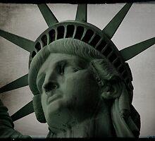 Postcard - I heart NY by Catherine Hadler