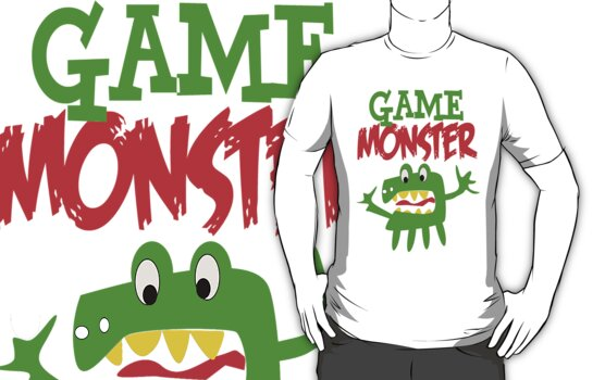 Game Monster by gleekgirl