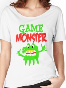 Game Monster Women's Relaxed Fit T-Shirt