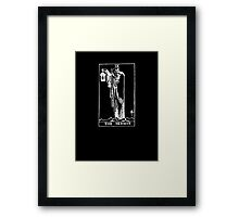 The Hermit (Shadow) Framed Print