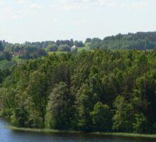 an amazing Latvia landscape Sticker