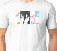 Ryuko and the Elite 4 Unisex T-Shirt