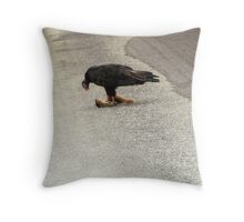 UPSETTING BUT NECESSARY Throw Pillow