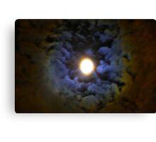 June Moon Canvas Print