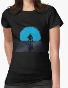Staring Into The Illusive Sun (Paragon Edition) Womens Fitted T-Shirt