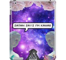 SATAN SAYZ iPad Case/Skin