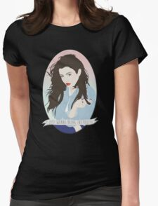 CHARLI XCX [BREAK THE RULES] Womens Fitted T-Shirt