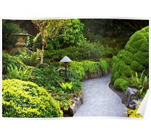 Mystery - Butchart Garden - BC Poster