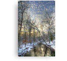 Twilight at Deep Creek Canvas Print