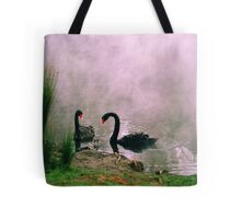 Swans,Daylesford Tote Bag