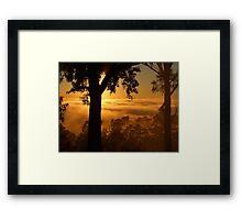 """"""" Valley still Hidden"""" Framed Print"""