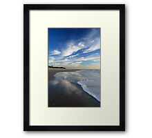 Sea, Sand & Sky ~ Bribie Island Framed Print