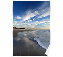 Sea, Sand & Sky ~ Bribie Island Poster