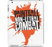 Paintball...Non-Lethal Combat iPad Case/Skin