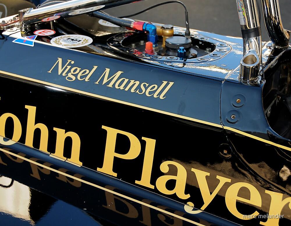 JPS Lotus, Nigel Mansell by marc melander