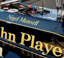 JPS Lotus, Nigel Mansell by marc melander