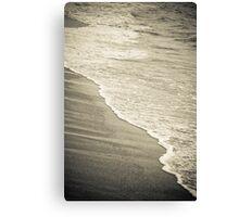 Sea-sand Canvas Print