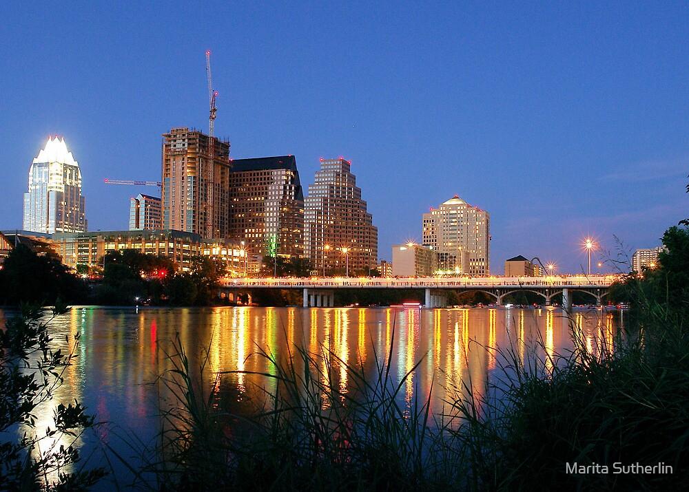 Night on the Town, Austin, Texas by Marita Sutherlin
