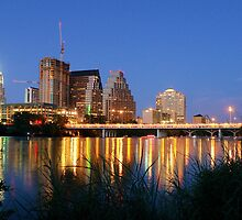 Night on the Town, Austin, Texas by worldtripper