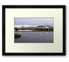 Reality and Reflection Framed Print