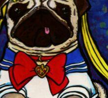 Sailor Pug Sticker