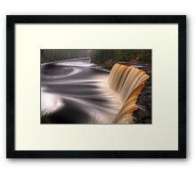 Tahquamenon Falls Framed Print