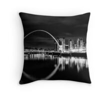 It was quiet, it was calm, it was magnificent Throw Pillow