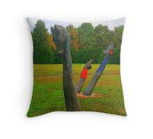 1526: Mohács (kopjafa field) Throw Pillow