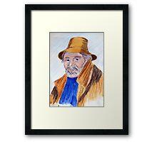 Farmer Giles Framed Print