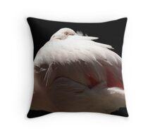 Flamingo Dreams Throw Pillow