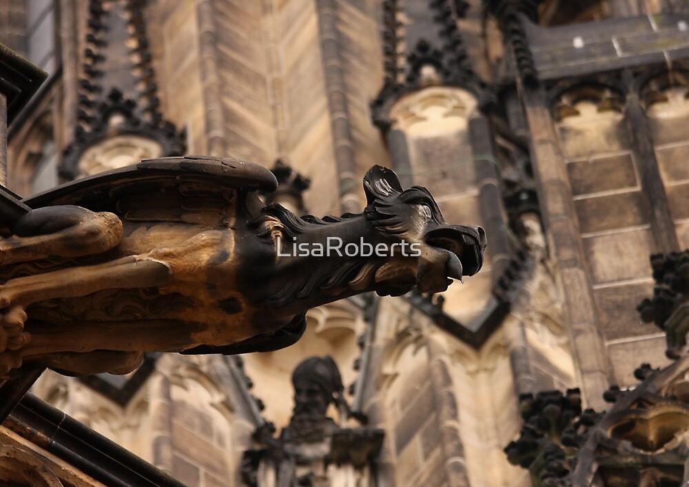 Gargoyle, Prague Cathedral, Czech Republic by LisaRoberts
