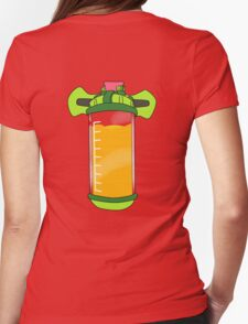 Ink Pack - Orange Womens Fitted T-Shirt