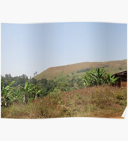 an incredible Cameroon landscape Poster