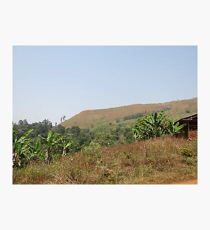 an incredible Cameroon landscape Photographic Print