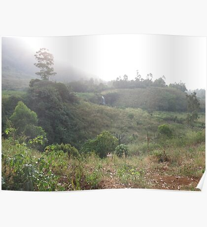 an awesome Cameroon landscape Poster
