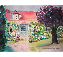 Garden in Giverny, France Photographic Print